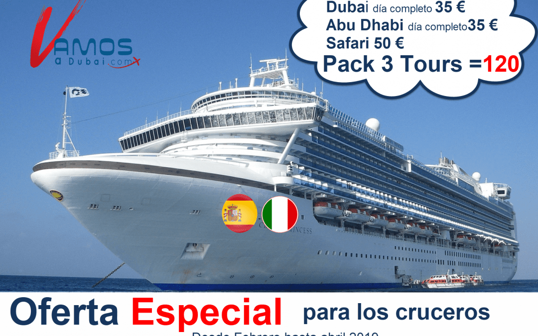 Oferta Especial Para Cruceros
